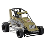 Garage Sale - R&E Enterprises Bellville Ann. Die Cast Midget Sprint Car, 1/18th Scale