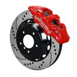 Wilwood 140-13582-DR AERO6 SRP Front Disc Brake Kit, 14 Inch