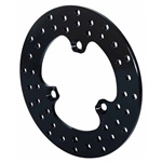 Wilwood 160-3458 Drilled Steel Midget Front Rotor, 10.25 Inch