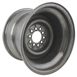 15 x 10 Inch Smoothie Steel Wheel, 4-1/2 Inch Backspace