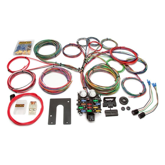 painless wiring 10104 21 circuit gm chassis wiring harness ebay