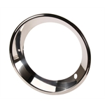 Chrome Beauty Ring for 15 Inch GM Rally Wheel, 2.5 Inch Wide