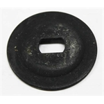 CHQ Reproductions W-060A Quarter Window Glass Steel Backing Washer
