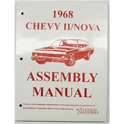 Dave Graham 68-NFA 1968 Chevy II Nova Assembly Manual