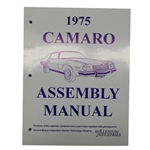 1975 Camaro Assembly Manual
