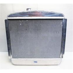 Garage Sale - AFCO 1949-54 Chevy Aluminum Radiator, Chevy Engine