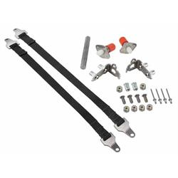 Hidden Tail Gate Latch w/ 16 Inch Straps