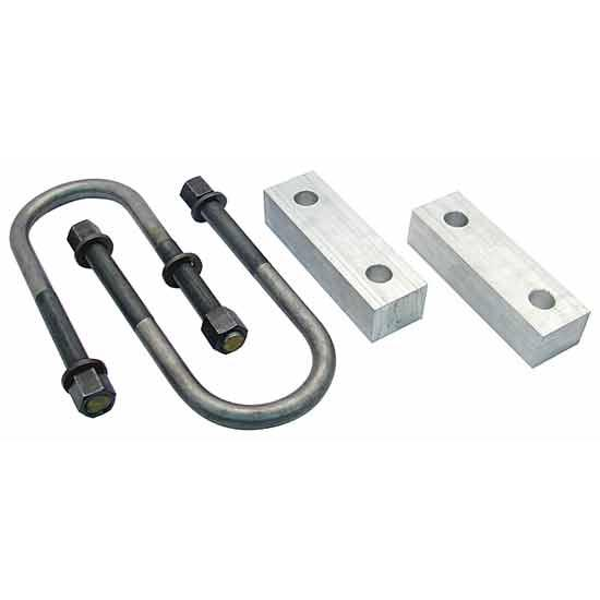 1960-72 Chevy Pickup Rear Lowering Block Kit, 1 Inch