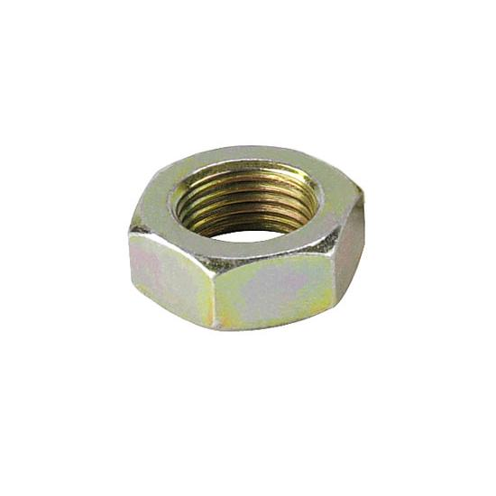 Plain Steel Jam Nut, 11/16-18 RH