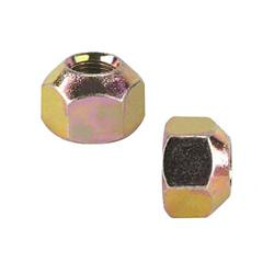 Single Sided Metric Lug Nut, 1 Inch Hex