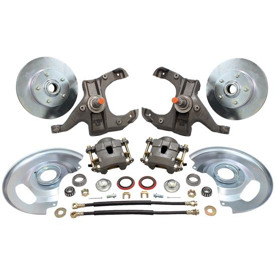 1963-70 Chevy Pickup Drop Spindle Disc Brake Kit