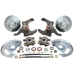 1963-1970 Chevy 1/2 Ton Pickup Drop Spindle Disc Brake Kit
