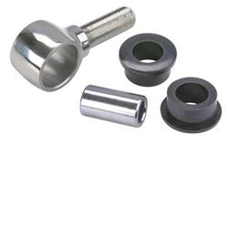 Speedway Stainless Steel 4-Bar Rod Ends, 5/8-18 RH Thread, Polished