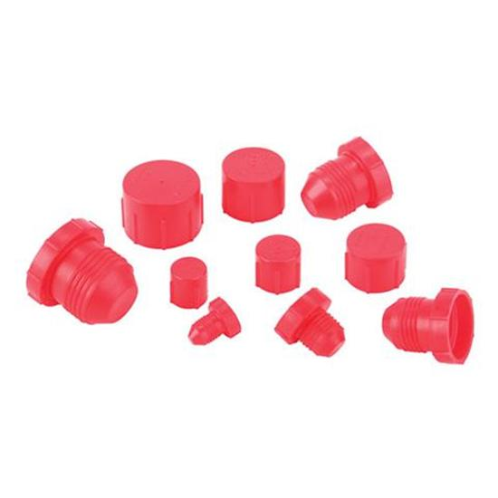 Plastic AN Cap and Plug Kit - 72 Pieces