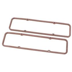 Small Block Chevy Valve Cover Gaskets, 5/16 Inch Thick Steel Core
