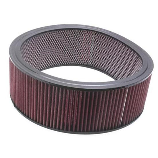 Speedway Washable Air Filter Element, 14 x 4 Inch