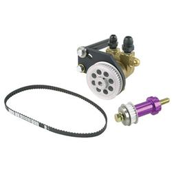 Rons Racing 4001-100 Gold Belt Drive Fuel Pump Kit, Water Pump Mount