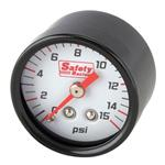 Safety Racing Remote Pressure Gauge