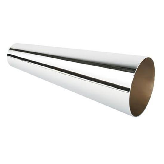 Patriot Exhaust Short Steel Megaphones, 2 x 4 x 12 Inch