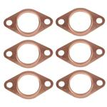 Flathead Copper Header Flange Exhaust Gaskets