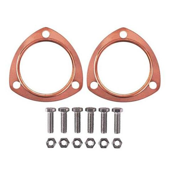 Copper Collector Exhaust Gaskets, 2-1/2 Inch