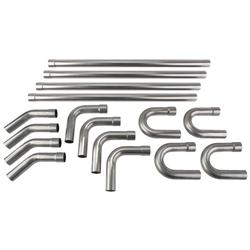Mild Steel Exhaust Bend Kit, 2-1/4 Inch
