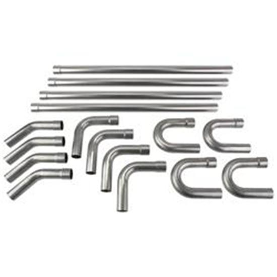 Stainless Steel Exhaust Bend Kit, 2-1/2 Inch