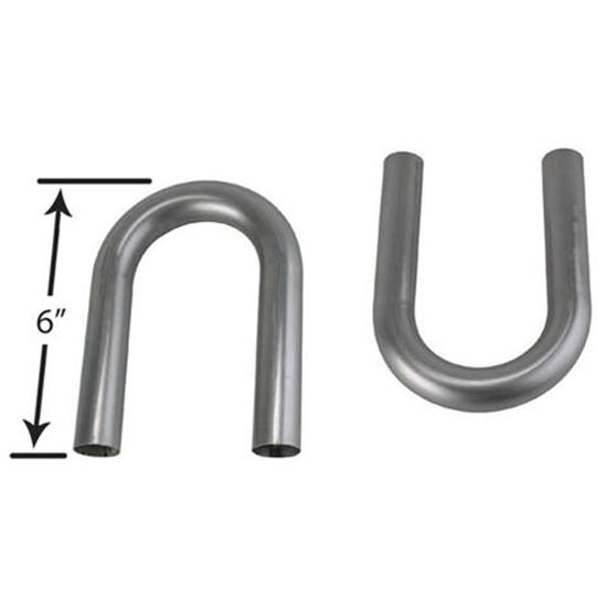 Stainless Steel Exhaust U-Bends, 1-1/2 Inch O.D.