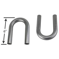 Stainless Steel Exhaust U-Bends, 2-1/4 Inch O.D.