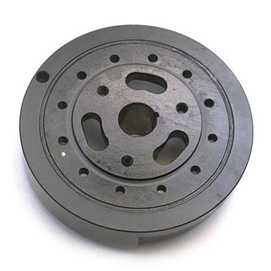 Small Block Chevy 400 Harmonic Balancer, 8 Inch, Plain Steel