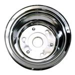 1969-85 Small Block Chevy Double Groove Lower Pulley, Long Water Pump