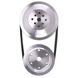 Reduction Pulley Combo for Small Block Chevy Long Pump