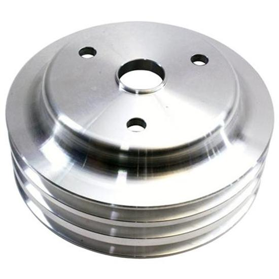 1969-1985 Small Block Chevy Aluminum Triple Lower Pulley