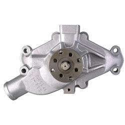 Small Block Chevy Performance Aluminum Water Pump, Short