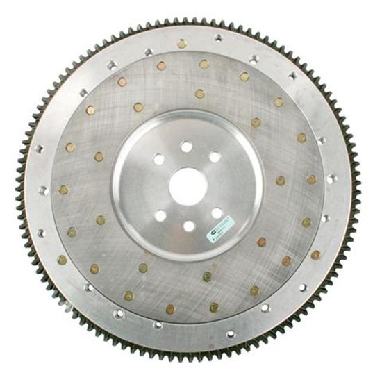 Flathead Ford Aluminum Flywheel With Steel Insert