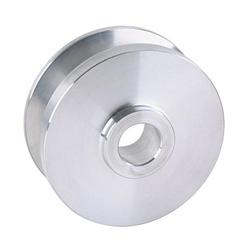 GM Alternator 5/8 Inch Wide Belt Pulley, Aluminum
