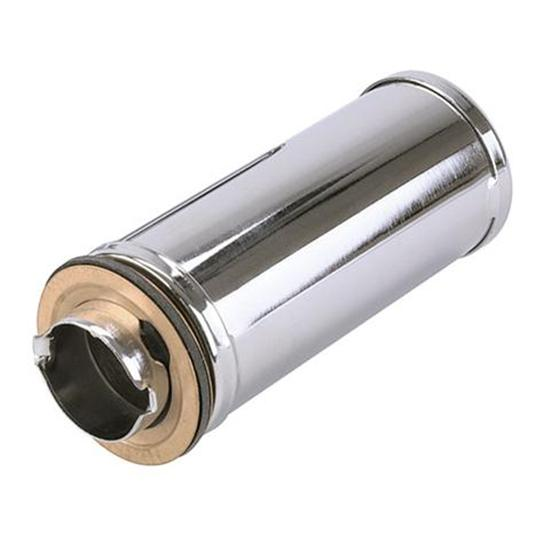 Twist-On Chrome Oil Filler Tubes