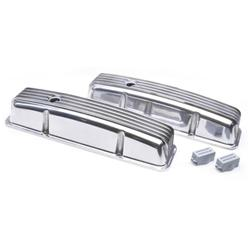 1958-86 Small Block Chevy Tall Finned Valve Covers