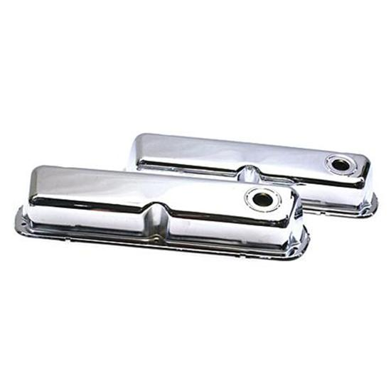 Small Block Ford 260-351W Chrome Valve Covers
