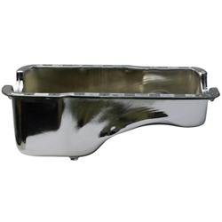 Small Block Ford Front Sump Chrome Oil Pan