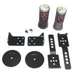 Ridetech 19002005 Universal Rear Air Ride Kit-2 Inch Rear Leaf Springs