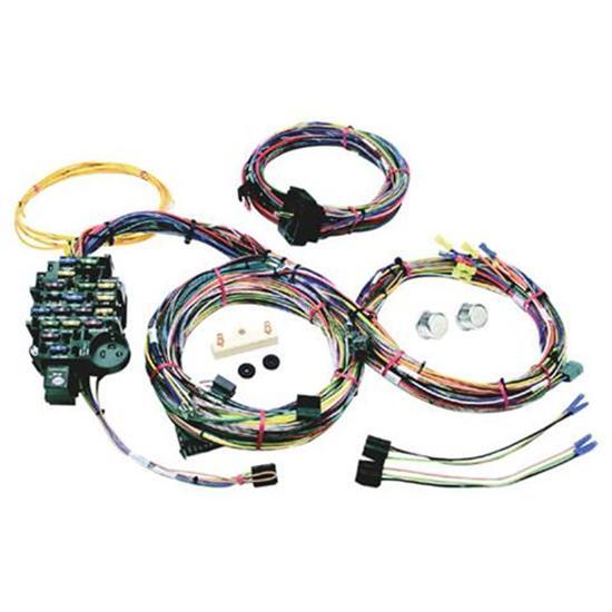 new painless 1967 1968 chevy camaro pontiac firebird wiring harness 18 circuit ebay