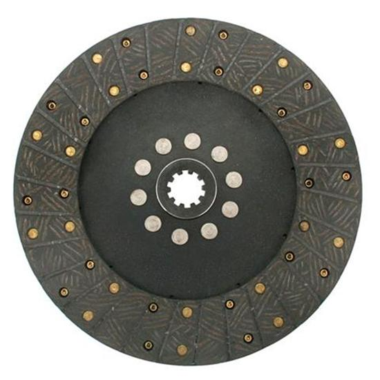 Ace Mfg. 10-1/2 Inch GM Organic Clutch Disc, Solid Hub, 1-1/8 Inch 10-Spline