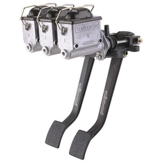 Wilwood Reverse Swing Triple Master Cylinder Pedal, 6.2:1