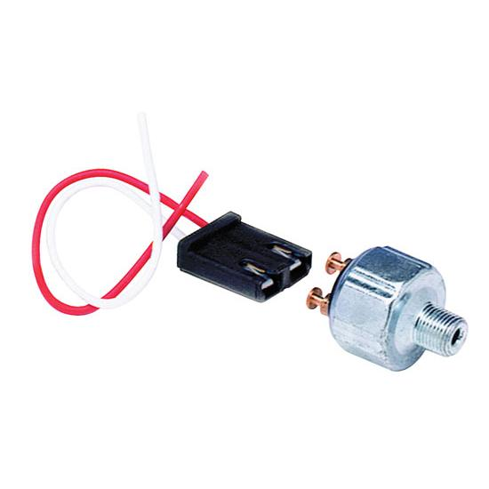 Painless Wiring 80174 Pressure Brake Switch with Pigtail, 1/8 NPT