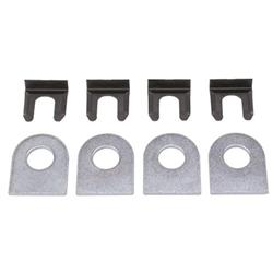 Brake Line Mount Tabs with Clips - Pack of 4