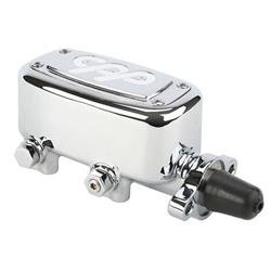 Speedway Deluxe Chrome Aluminum Master Cylinder, 1 Inch Bore