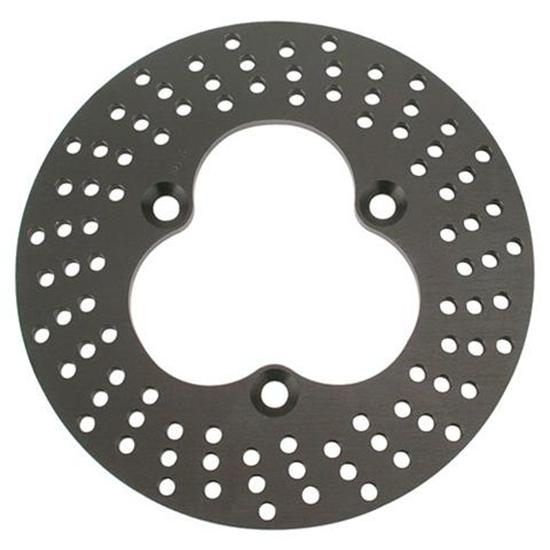 MPD Racing Front Aluminum Drilled Brake Rotors, .380 Thick