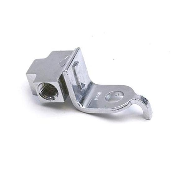 3/8 Inch-24 IFF Each Port with Bracket, Chrome Adapter Tee