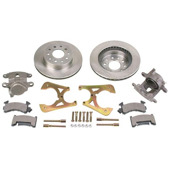 GM 10 & 12 Bolt Bolt-On Rear Disc Brake Kit